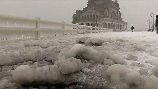 Karadeniz'in kuzeyi dondu