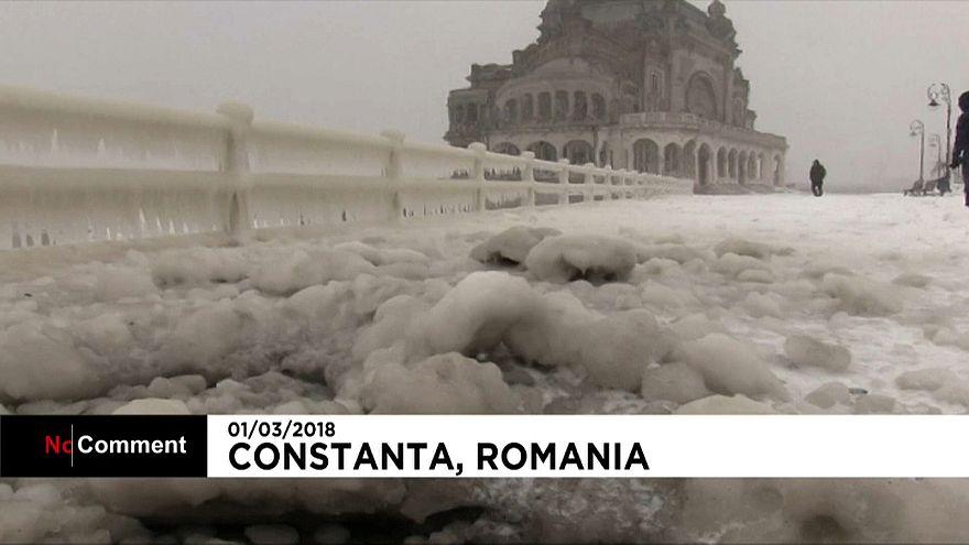 Il ghiaccio sul Mar Nero