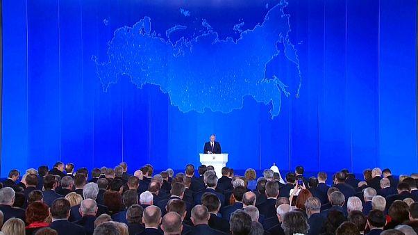 Vladimir Putin: 'Sınırsız menzile' sahip nükleer silah geliştirdik