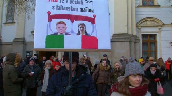 Detenidos varios italianos en relación con el asesinato de Jan Kuciak