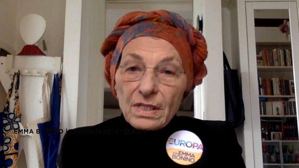 """Emma Bonino à Euronews: """"É preciso relançar o projeto europeu"""""""