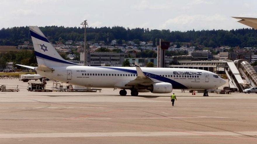 طائرة تابعة لشركة الطيران الوطنية الإسرائيلية العال