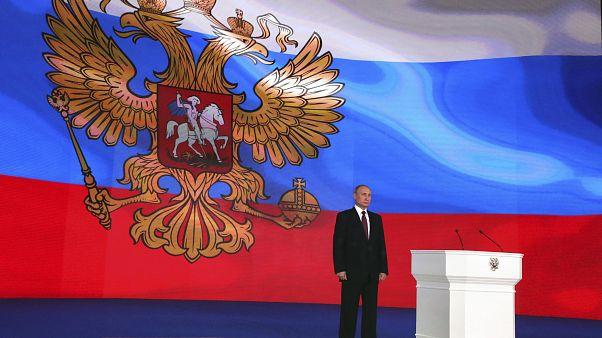 Discours annuel de Vladimir Poutine devant le Parlement russe.