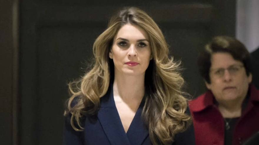 Hope Hicks is one of Donald Trump's most trusted aides