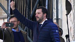 Salvini, un atronador discurso contra la inmigración