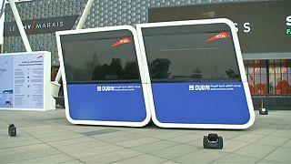 """بعد """"درون تاكسي"""" دبي تختبر وحدات تنقل ذاتية القيادة للمدن الذكية"""