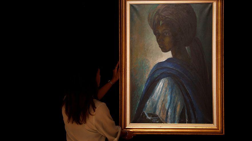 """1,6 millió dollárért adták el az """"afrikai Mona Lisát"""""""