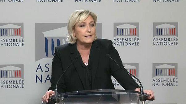 Vádat emeltek Marine le Pen ellen