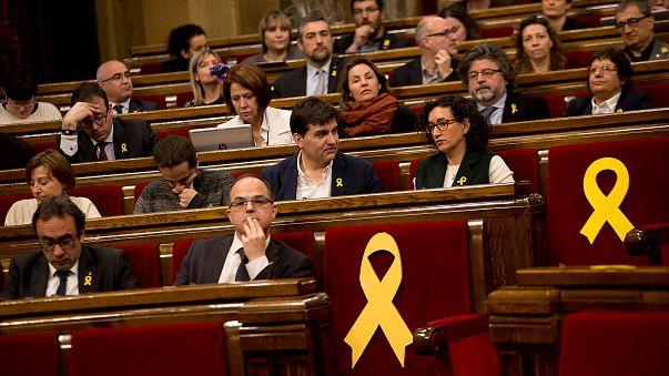 Maioria do Parlamento catalão defende Puigdemont