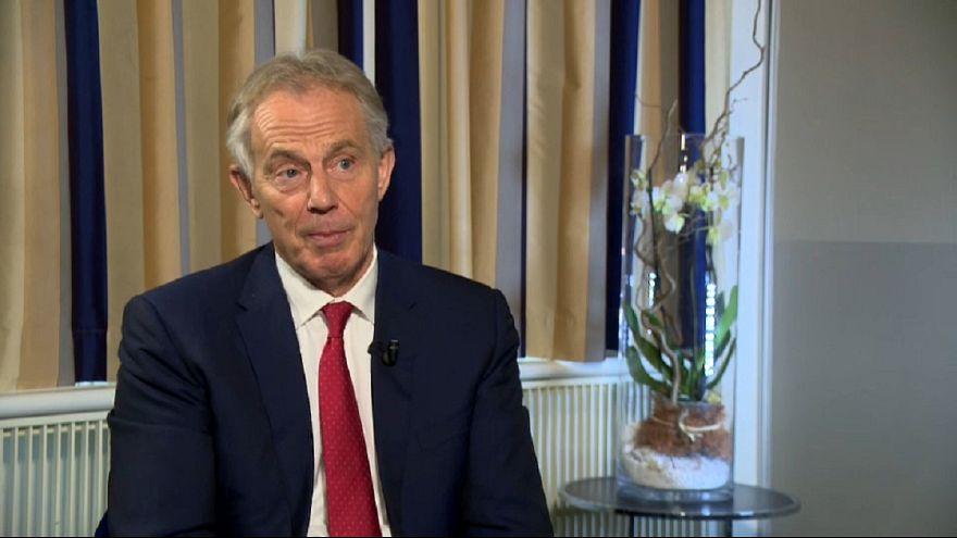 Former UK PM Tony Blair criticises plans to alter Irish agreement
