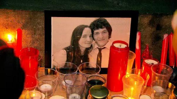 Öldürülen Slovak gazeteci için Brüksel'de anma
