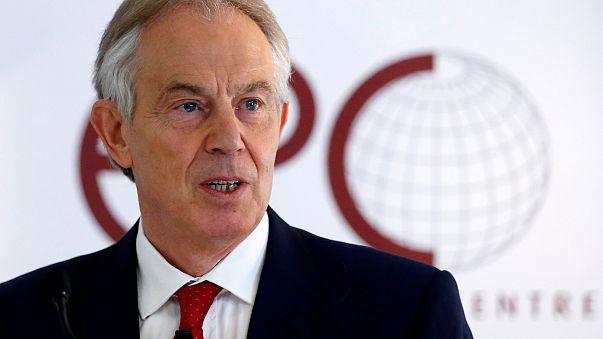 Tony Blair à Bruxelles 1/03/2018.