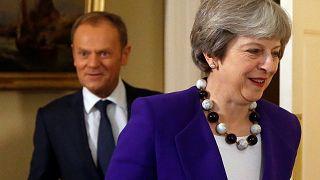 British PM Theresa May prepares landmark Brexit speech