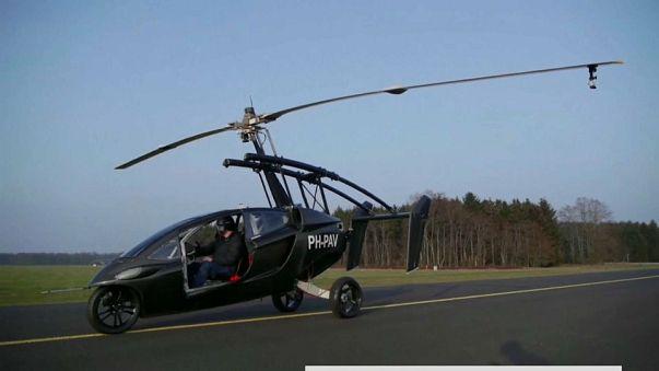 شاهد: السيارة الطائرة...قريبا في معرض جنيف للسيارات