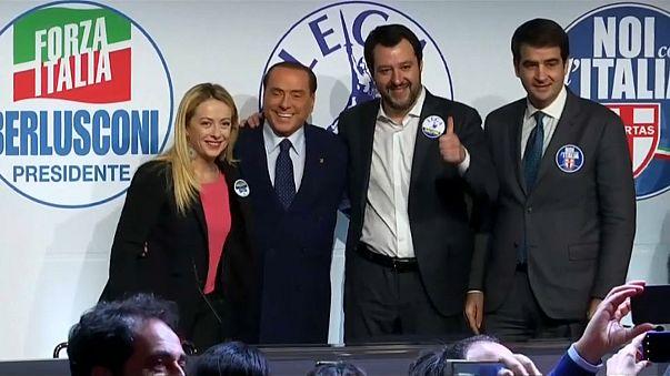 Правоцентристская коалиция впервые показалась в полном составе