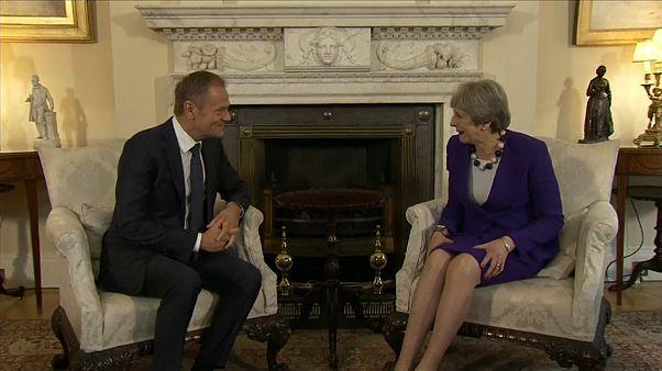 Brexit: Tusk'tan Londra ziyareti