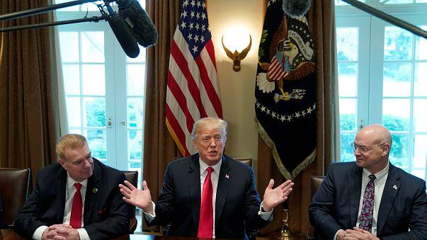 Reunión sobre los aranceles al acero y el aluminio en la Casa Blanca