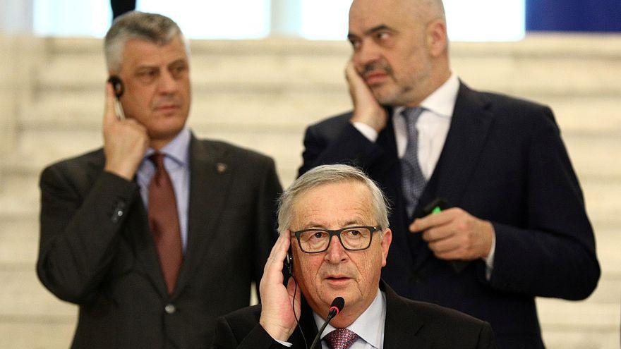 Jean-Claude Juncker adresse ses recommandations aux pays des Balkans
