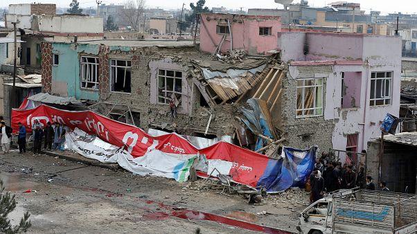جرحى في تفجير انتحاري قرب سفارات أجنبية في كابول