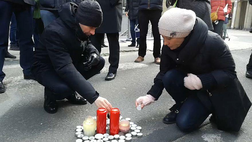 Brüssel: Mahnwache für ermordeten Journalisten