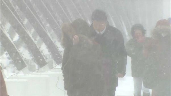 Un violent blizzard balaie le Japon