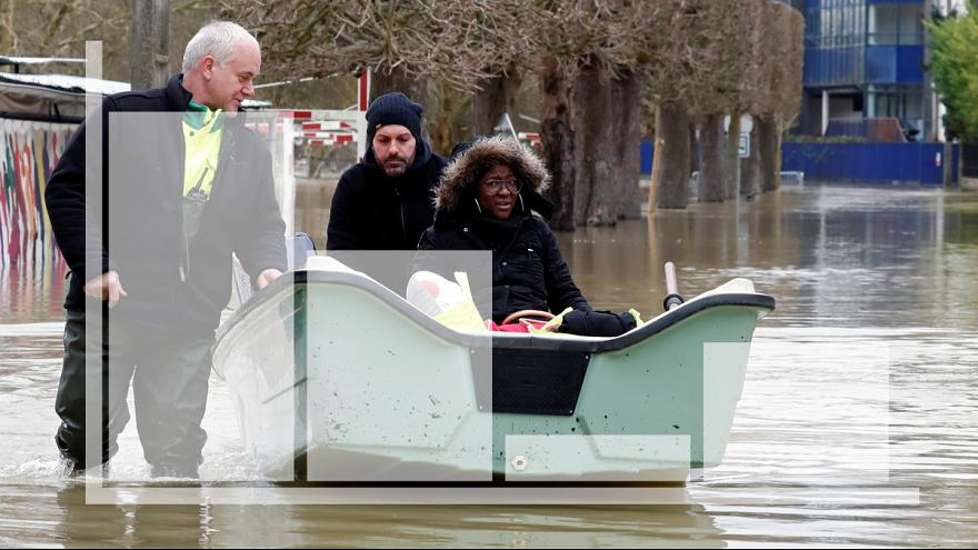 Major floods twice as common as 30 years ago, data shows