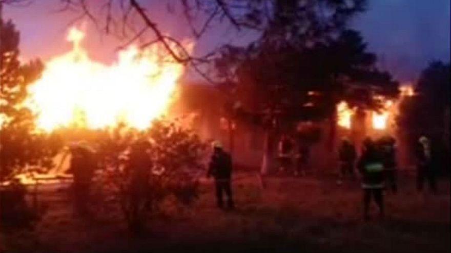 Azerbaijan fire: 24 killed at drug treatment centre