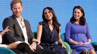 Harry, Meghan und Prinzessin Kate beim Royal Foundation Forum in London