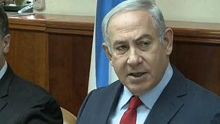 İsrail polisi Başbakan Benjamin Netanyahu'yu sorguya aldı