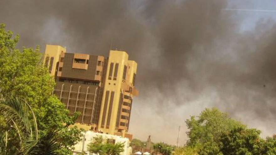 Burkina Faso attack: French embassy and army headquarters targeted