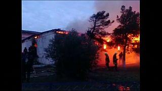 Al menos 24 muertos en el incendio de un centro de toxicómanos en Azerbaiyán
