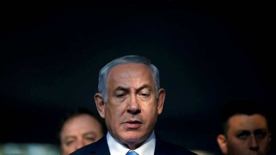 Polícia israelita interroga Benjamin Netanyahu