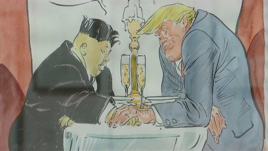 Les tweets de Trump inspirent un dessinateur français
