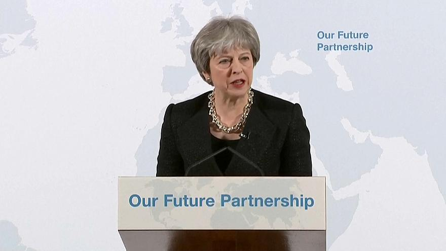 Watch again: British PM Theresa May gives key Brexit speech