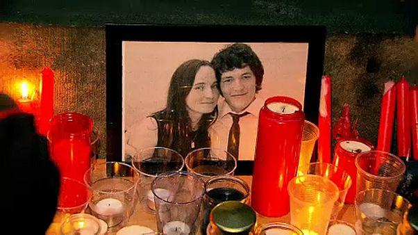 A meggyilkolt újságíróra emlékeztek Brüsszelben