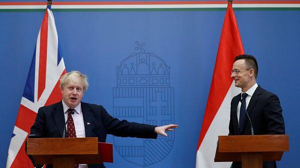 Budapesten tárgyalt Boris Johnson