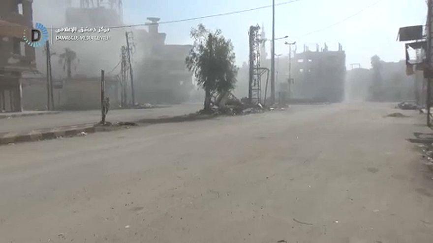 Már szárazföldi csapatok is támadják Kelet-Gútát