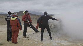 Island: Neue Antibiotika gesucht, zwischen Feuer und Eis