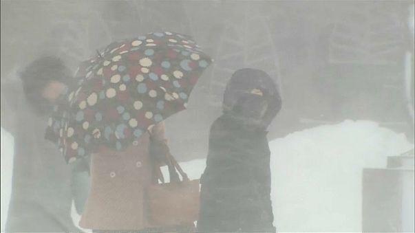 Japonya'da kar fırtınası can aldı