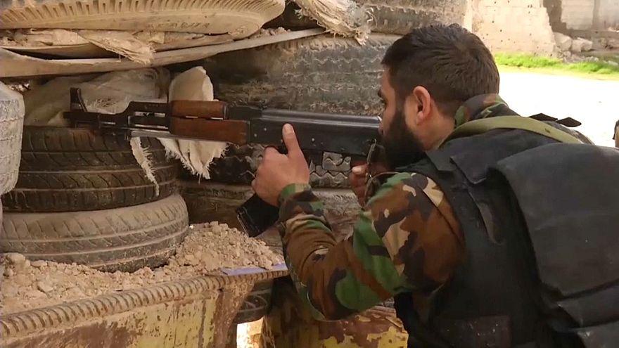 Belagertes Ost-Ghouta: Berichte über Geländegewinne für Assads Truppen