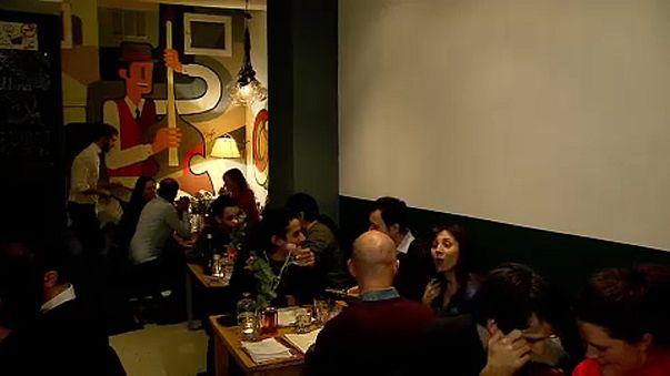 Restaurante italiano em Bruxelas