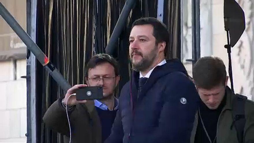 Matteo Salvini az Északi Liga jelöltje