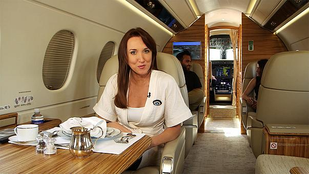 Cruise control: Private jets and superyachts with all the comforts of a top-end hotel