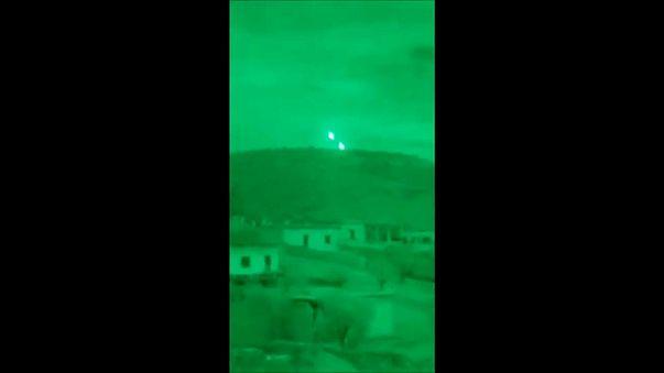 TURKISH NIGHT RAID ON AFRIN