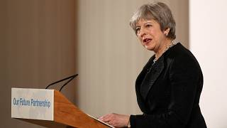 Theresa May discours Brexit