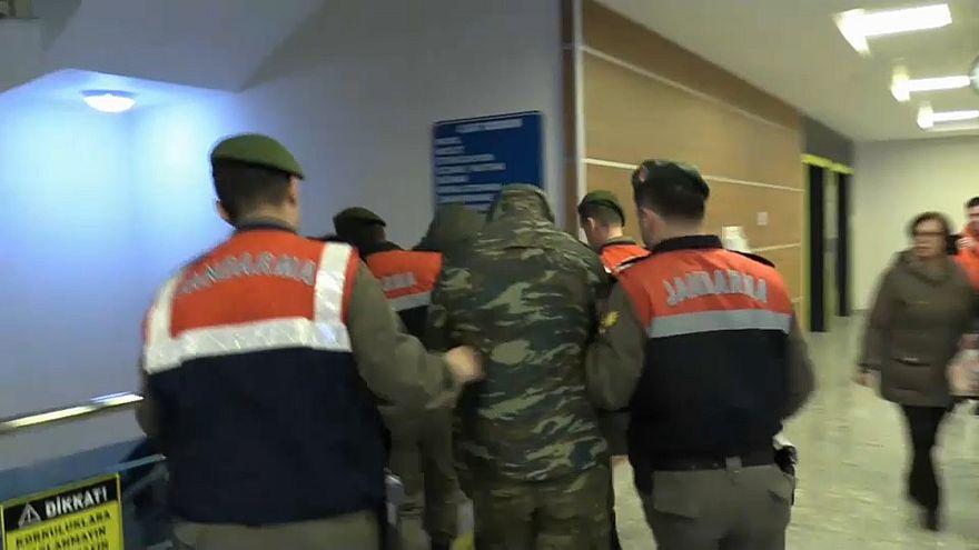 Griechische Soldaten auf türkischem Boden festgenommen
