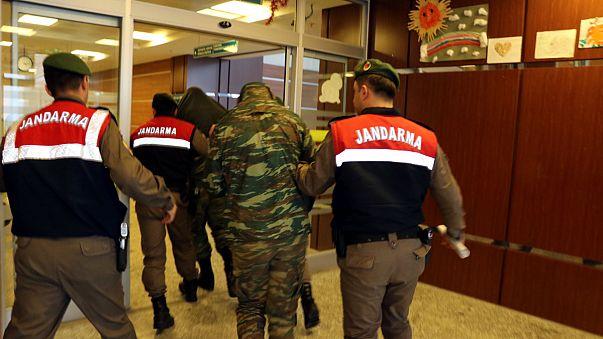 Türkiye topraklarına giren 2 Yunan asker tutuklandı