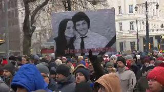 Jan Kuciakra emlékeztek Szlovákia-szerte