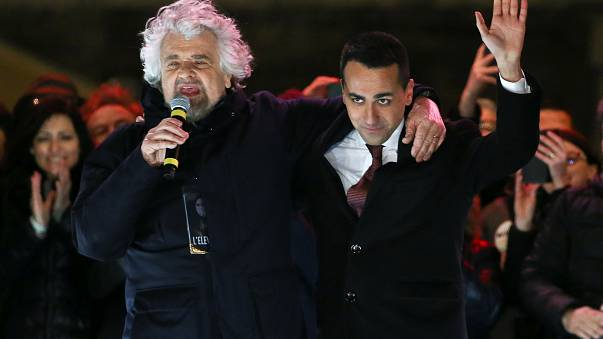 Italy's politicians in final rally ahead of election