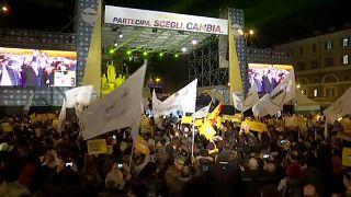 Abschlusskundgebungen der Parteien vor Wahl am Sonntag